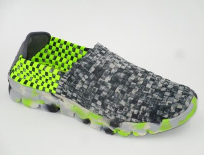 Orlando Camo Black Smoke-Neon Green 3952